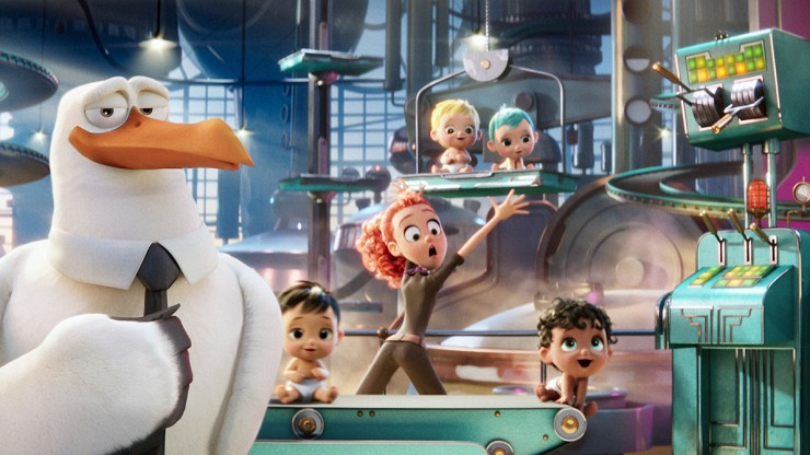 Storks is the new Warner Bros. Pictures animated adventure.