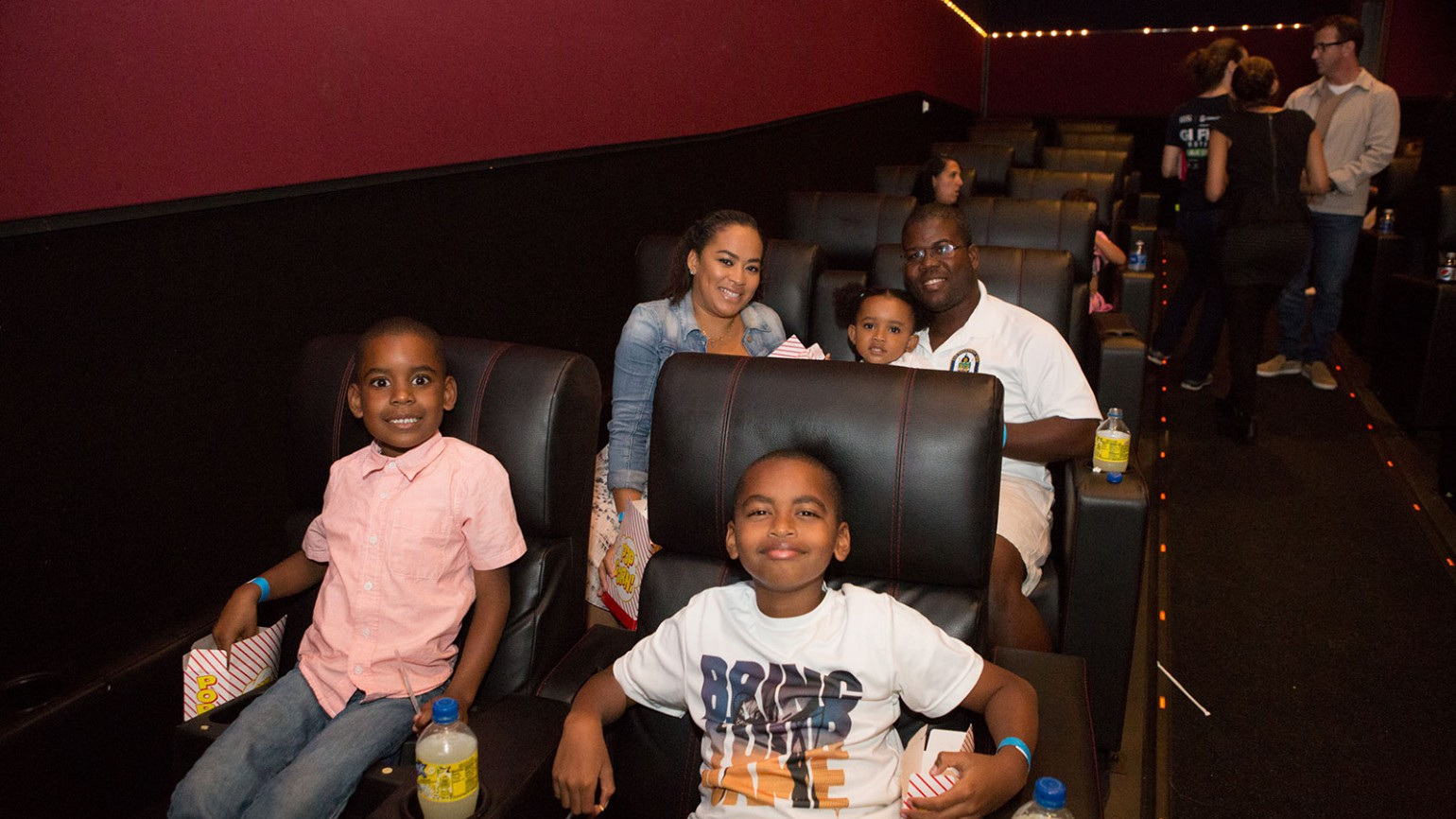Attendees at our special preview screening of Storks - Family Movie Night 9/16