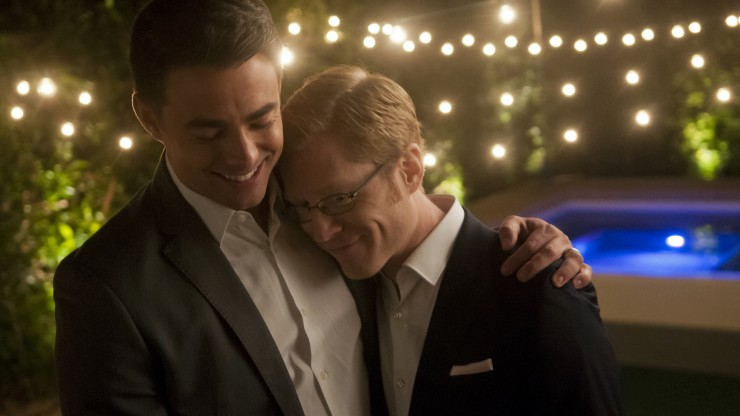 JONATHAN BENNETT and ANTHONY RAPP star in MODERN LOVE Photo: Andrew Hreha © Modern Love, LLC.