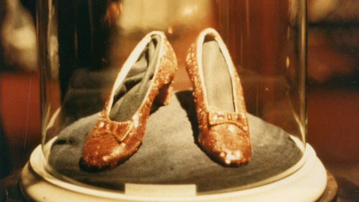 Ruby Slippers at 1970 MGM Auction