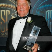 Jack with award