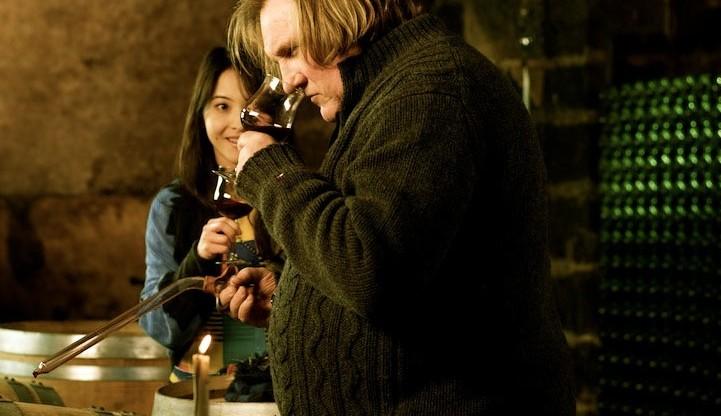 Gerard Depardieu and Takeda Eriko in Winter Frog