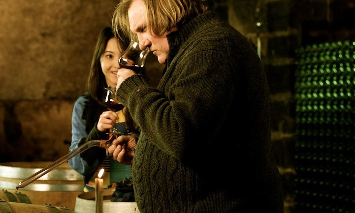 Gerard Depardieu and Takeda Eriko in Winter Frog