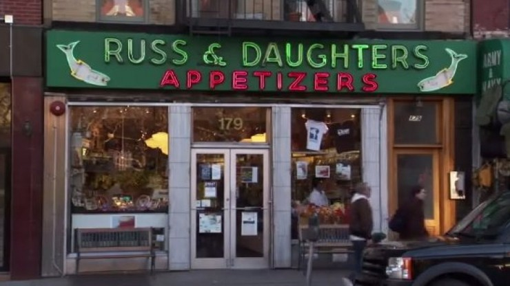 sturgeon russ & daughters