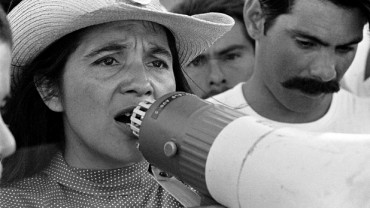 Dolores Huerta appears in Dolores by Peter Bratt, an official selection of the U.S. Documentary Competition at the 2017 Sundance Film Festival. © 2016 Sundance Institute | photo by George Ballis.