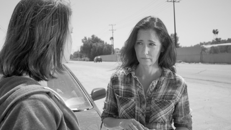 Beth (Cristyn Chandler) and Janet (Lisa Winans) confront each other in Loser.