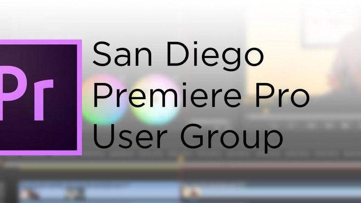 San Diego Premiere Pro User Group - banner logo