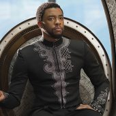 Chadwick Boseman in Black Panther (2018); © 2017 - Disney/Marvel Studios