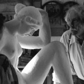 Still picture from the film The Artist and the Model