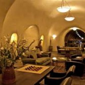 Picture of a wine cave at Deerfield Ranch Winery