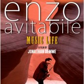 Poster for the Jonathan Demme documentary called Enzo Avitabile Music Life