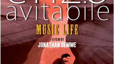 Poster for the Jonathan Demme documentary called Enzo Avitabile Music Life