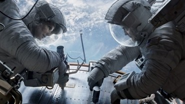 Still photo from the movie Gravity