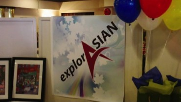 ExplorASIAN Banner at event