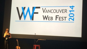 Stage at Vancouver Web Fest