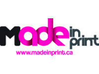 Made in print logo