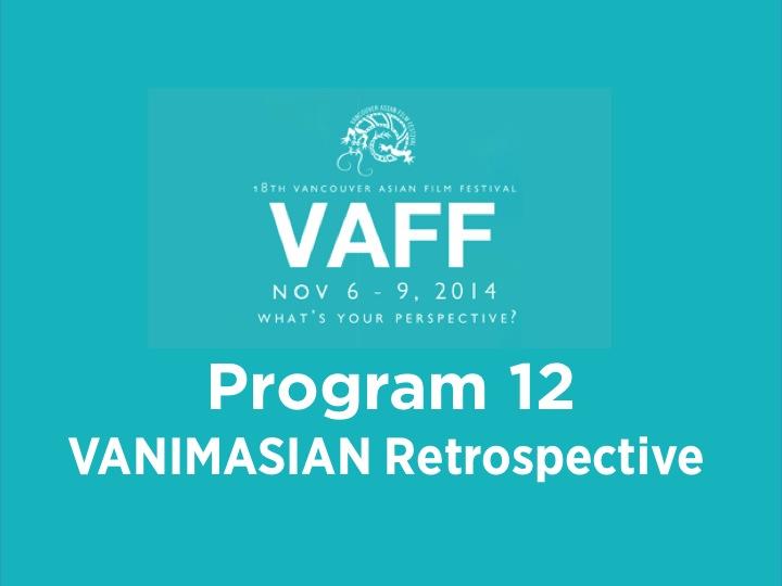 Program 12 - Vanimasian Retrospective