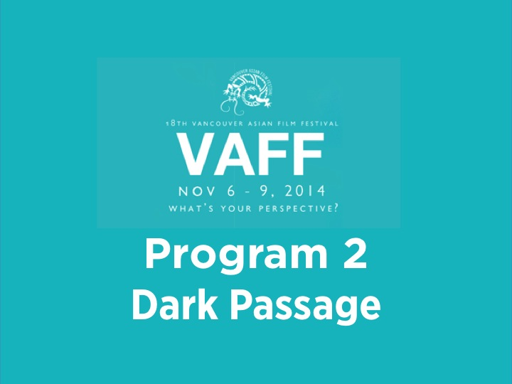 Program 2 - Dark Passage