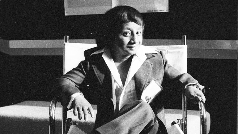 Weng Weng at Cannes May 1982 SMALL