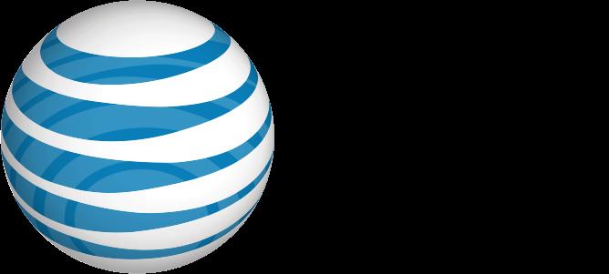 at&t larger logo