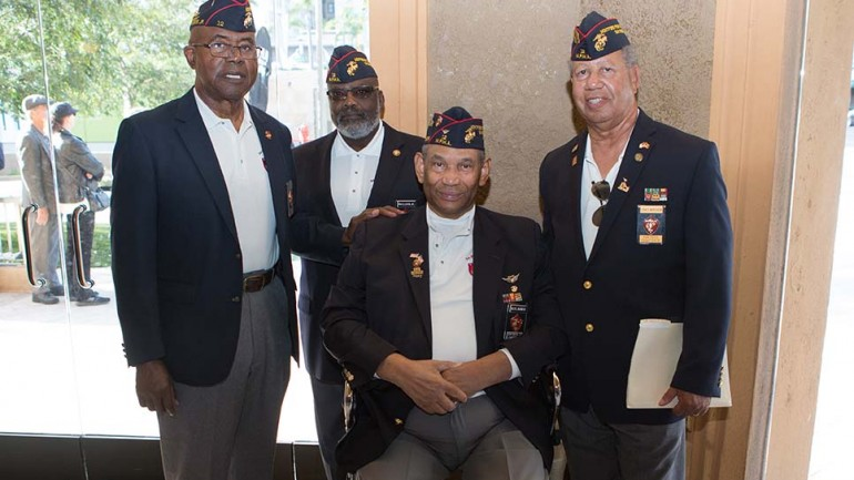 Local veterans excited to get a sneak peek at the film.