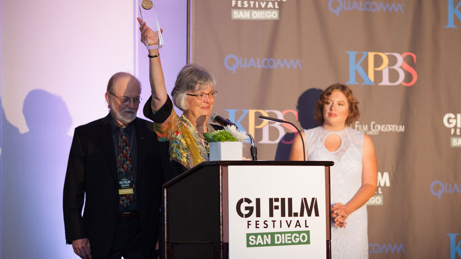 Filmmakers Ken and Betty Rodgers