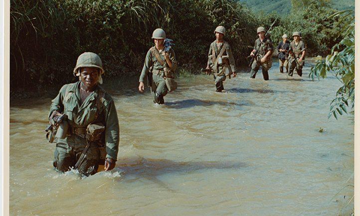 Marines during Vietnam War.