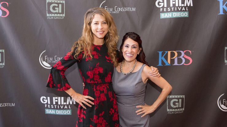 Brittany Huckabee with Roberta Castaneda