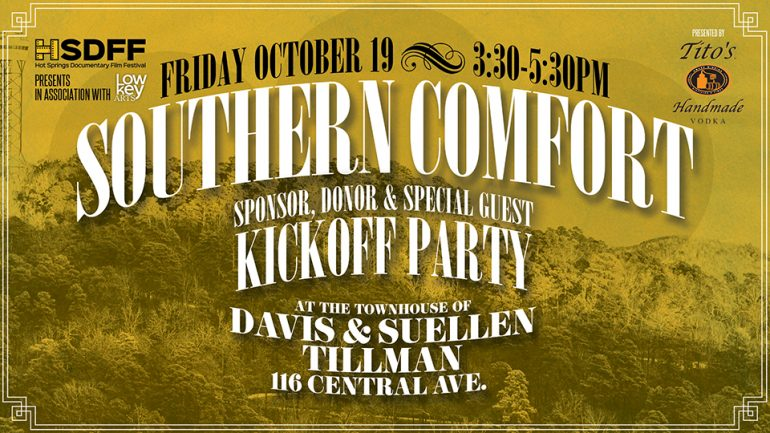 Southern Comfort: Sponsor, Donor, and Special Guest Kickoff
