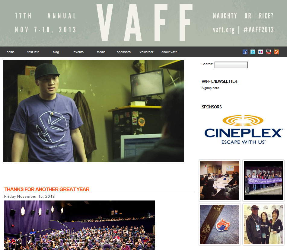 VAFF past festivals image