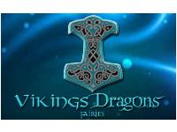 Vikings Dragons Fairies logo